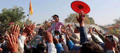 Aung San Suu Kyi has gone silent on a major human-rights crisis in Myanmar