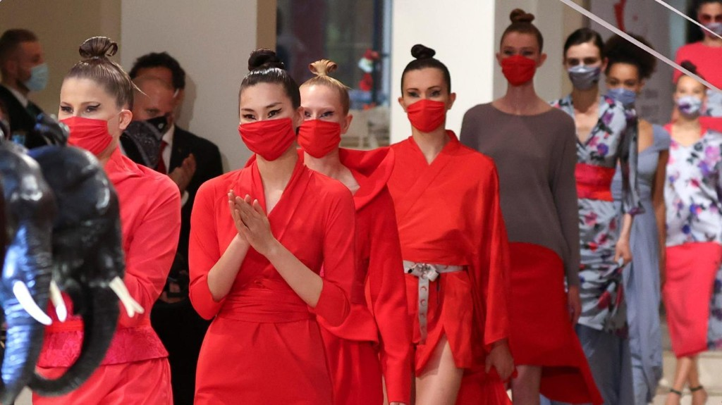 The luxury face mask has arrived