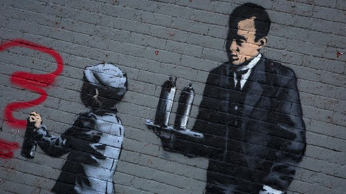 Why Banksy is (probably) a woman