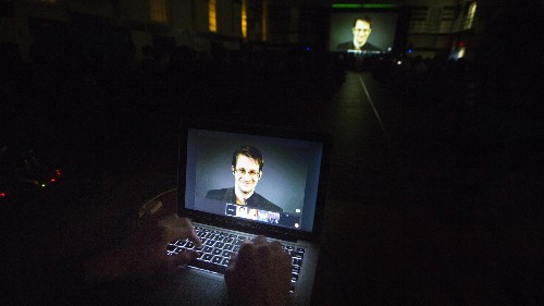 Encrypted communication means we may never find aliens, says Snowden