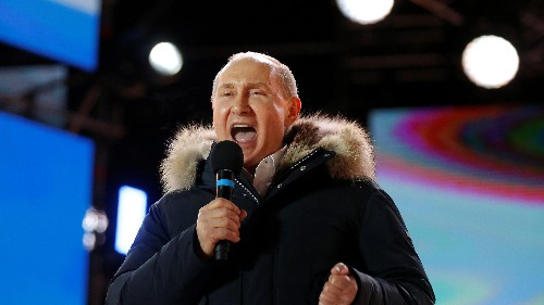 Vladimir Putin easily won a fourth term in office, with multiple irregularities reported
