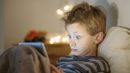 Study: Children who watch TV at night are more prone to nightmares and sleep talking