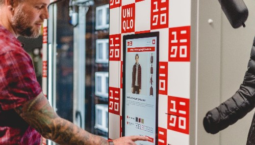 Uniqlo's new airport vending machines are selling the warm clothes you forgot to pack