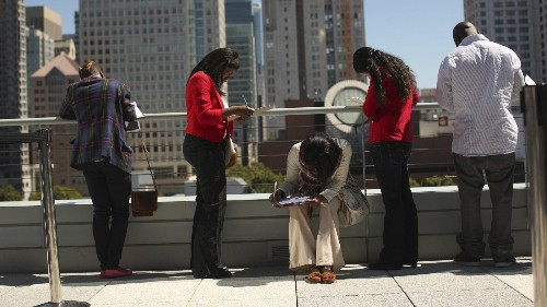 The level of black unemployment in the US is crisis-level for everyone else
