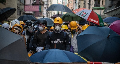 How Hong Kong's protest movement endures, in photos