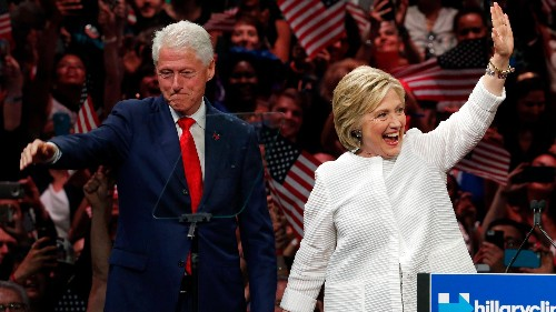 Bill and Hillary Clinton prove Americans still lose their minds when a man puts his wife's career first