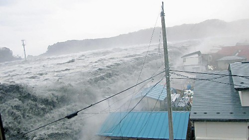 The biggest tsunami recorded was 1,720 feet tall and chances are good it will happen again