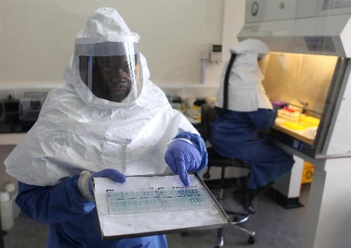 A Ugandan scientist found a way to detect Ebola in five minutes but couldn't get funding