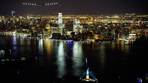 Solar Impulse 2, a massive solar-powered plane, just landed overnight in New York