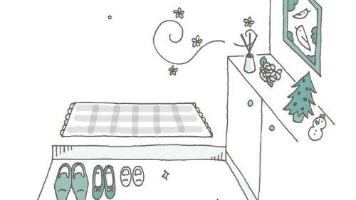 Marie Kondo's illustrated guide to a home that sparks joy