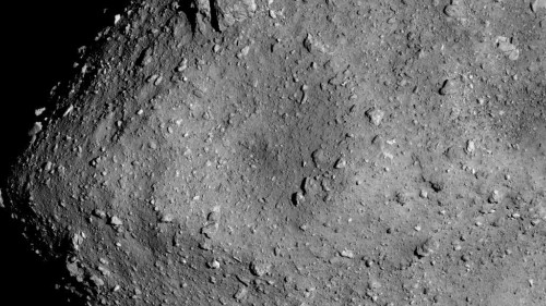 See Japan's first images from the rovers on asteroid Ryugu