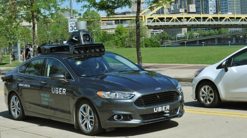 Uber's self-driving cars are on the road