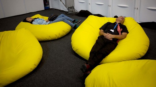 Taking a nap at work could make you healthier and more creative