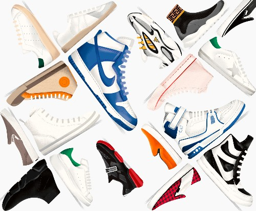 These sneaker silhouettes have redefined what we consider to be luxury fashion
