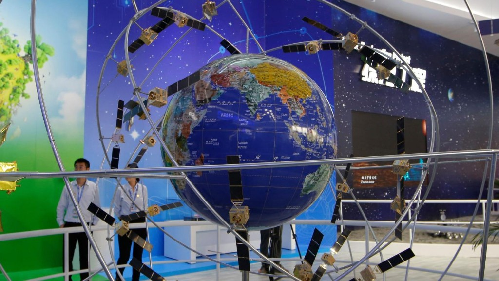 Is China's BeiDou satellite navigation system a challenge to US GPS?