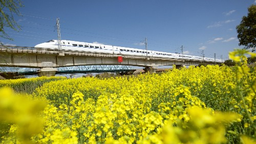 How to take the train from the UK to China