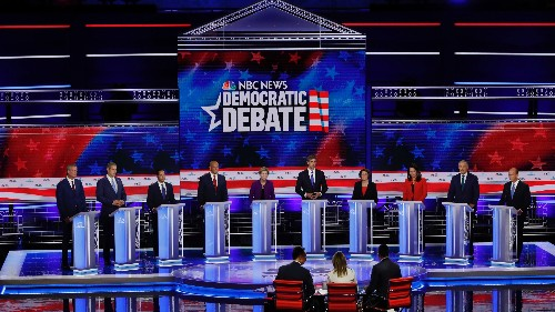 Democratic primary debate: Candidates name greatest threat to US