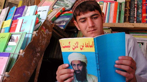 Osama Bin Laden's eclectic and paranoid collection of books