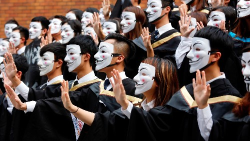 """Your """"V for Vendetta"""" protest mask was likely made in China"""