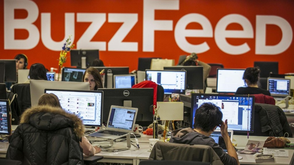BuzzFeed is killing it and its older rivals are rattled