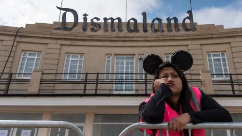 Enter the world of Dismaland, Banksy's dystopian version of a Disney theme park
