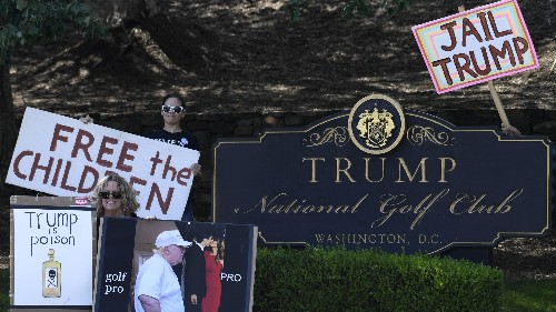 Border Patrol retirement party to be held at Trump golf resort