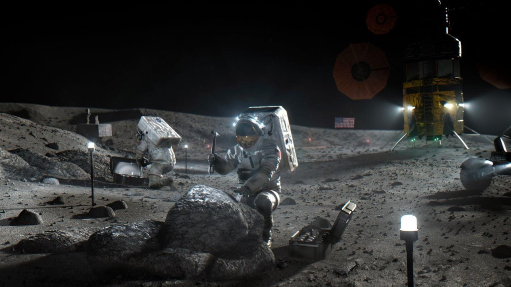 NASA turns to the private sector to make a lunar landing