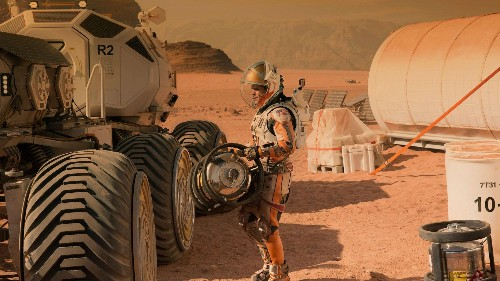 "The actual NASA technologies that Matt Damon will use in the space survival film ""The Martian"""
