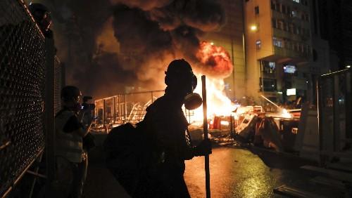 Hong Kong protests Beijing move to deny democracy