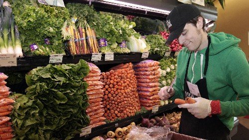 Buying organic veggies at the supermarket is a waste of money