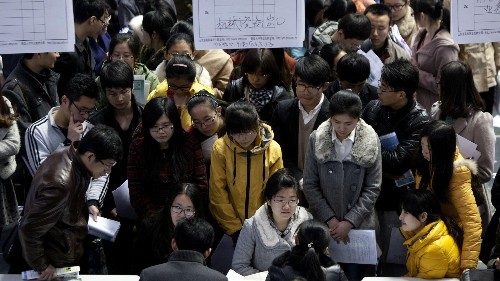 "Millions of young Chinese are about to experience ""the worst year in history to graduate"""
