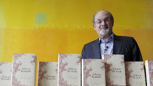 How Salman Rushdie dealt with writer's block—and other little-known facts