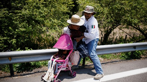 Mexico is detaining more immigrants
