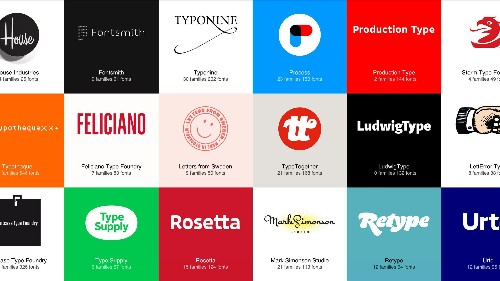 Every designer should know about this rentable font library