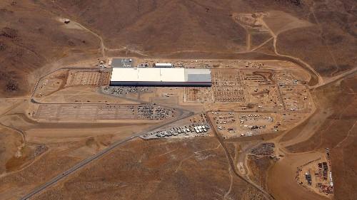 A rare, behind-the-scenes look at Tesla's Gigafactory