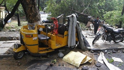 As flooding recedes in Chennai, forecasters warn of rains in the next 24 hours