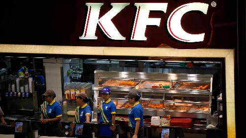 KFC is failing in China because its fast food is way too slow