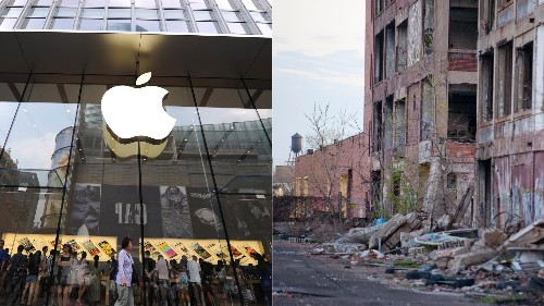 Apple's record cash haul could repay Detroit's debt eight times over