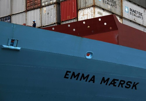 Maersk shipping's results signal hope for a moribund industry