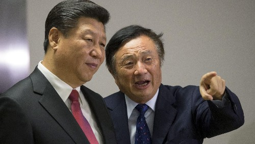Huawei founder Ren Zhengfei missing from China's reform pioneers