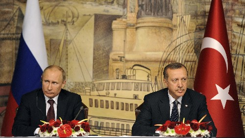 Vladimir Putin fancies himself a tsar standing up to Turkey's would-be sultan