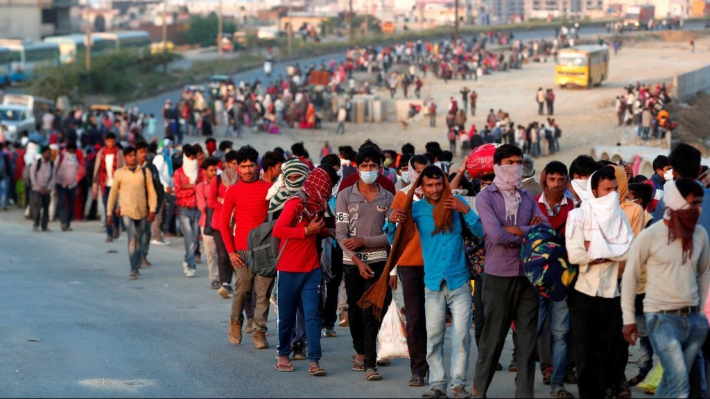 Charted: Lockdown is only the beginning of misery for India's migrant labourers