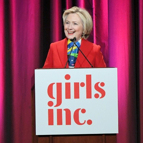 """Watch: Hillary Clinton speech to Girls Inc. on International Women's Day about resilience and """"the discipline of gratitude"""""""