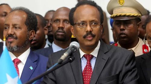 Somalia elects Mohamed Abdullahi Farmaajo, a Somali-American, as its ninth president