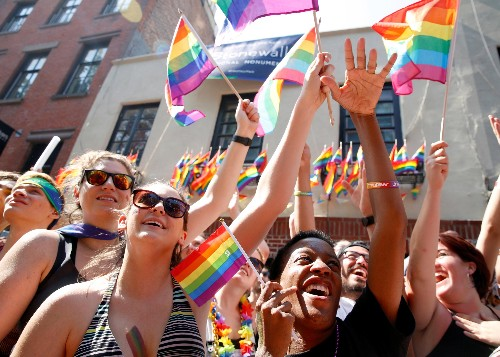The rise of bisexuals in America is driven by women