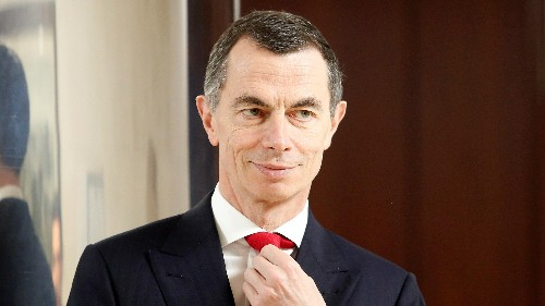 UniCredit CEO Mustier says negative rates are good for society, not banks