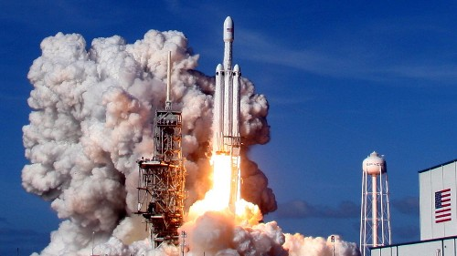 Watch SpaceX Falcon Heavy launch for just the third time