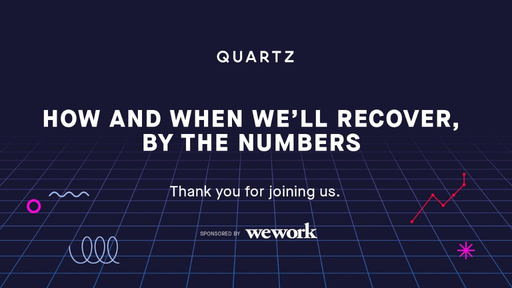 Watch: Quartz's workshop on how and when we'll recover