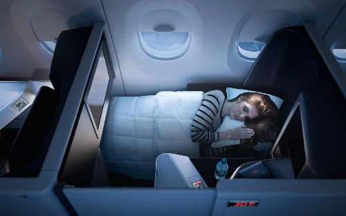 Delta is building suites for business class, and it could make in-flight luxury cheaper on all airlines
