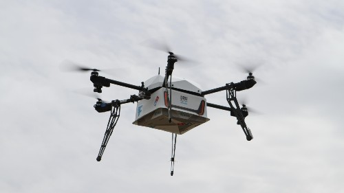 The future is here: Drones are delivering Domino's pizzas to customers